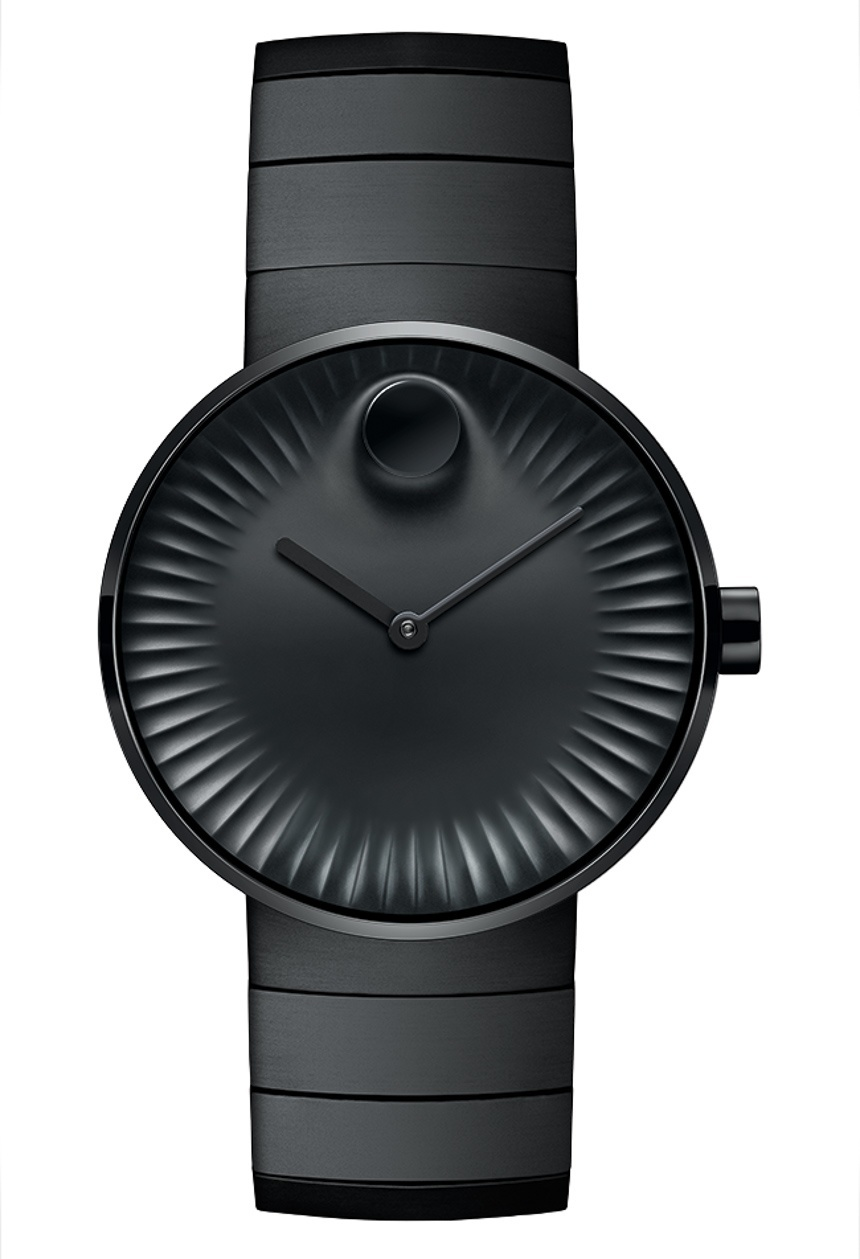 Replica Movado Edge Watches With PVD Dark Cases Available In Women And Men