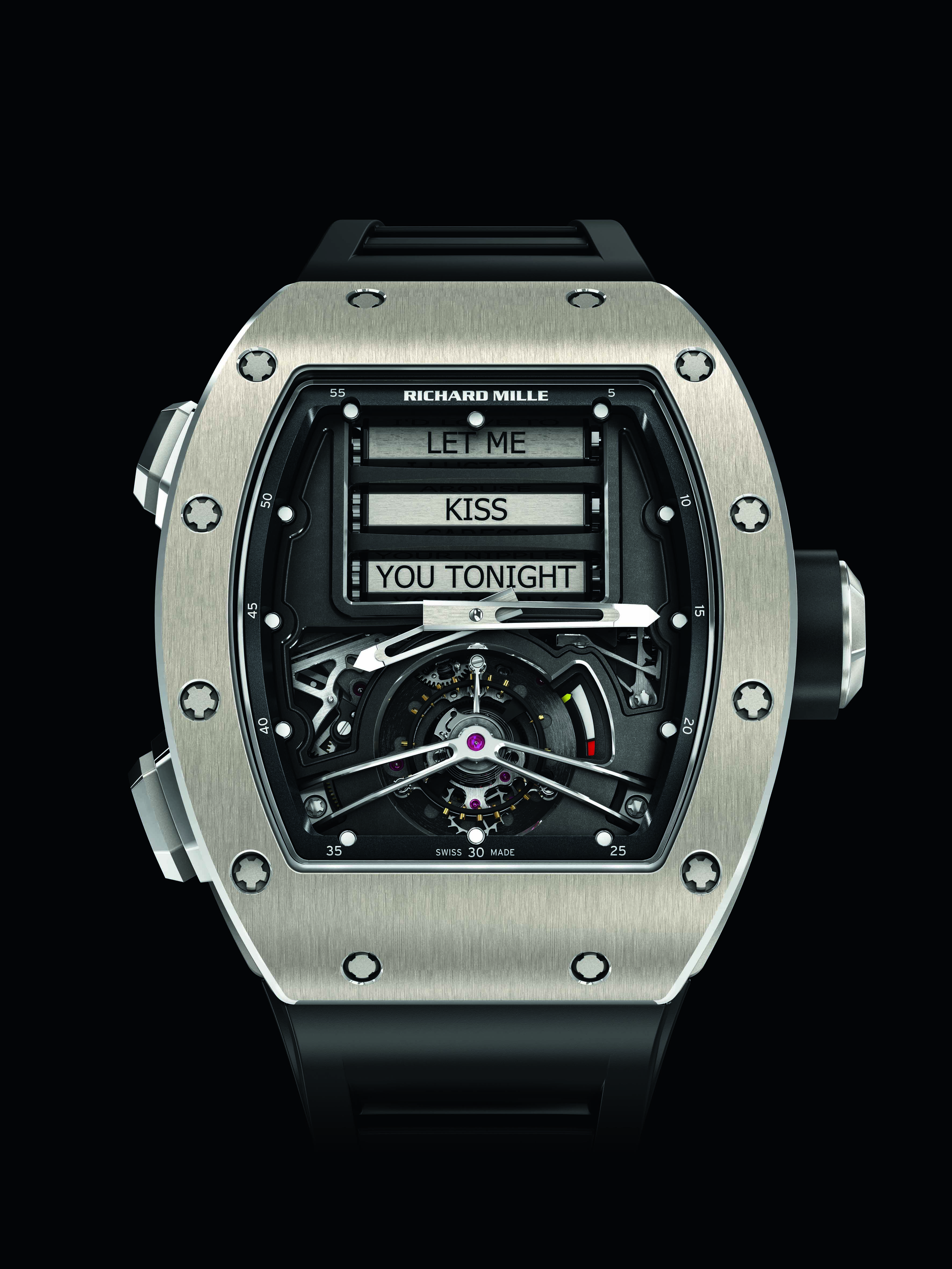 Cheap Replica Richard Mille Unveils The RM69 Erotic Tourbillon
