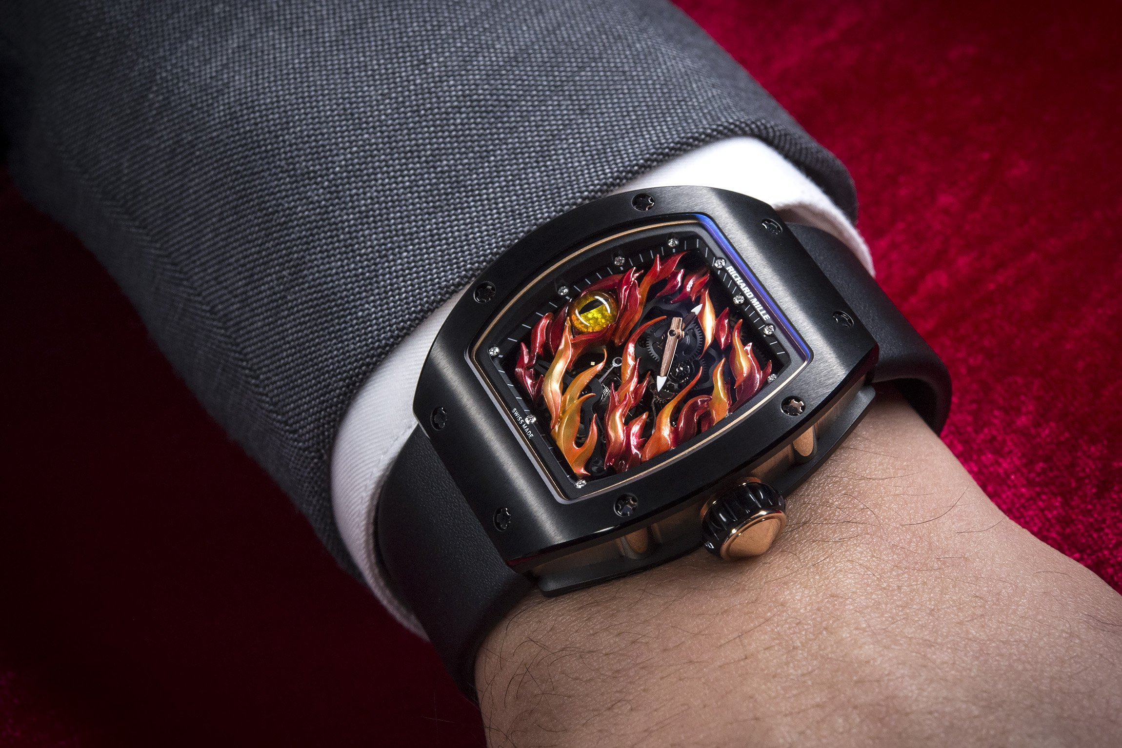 Reviewing Richard Mille RM 26-02 Evil Eye Replica Watch