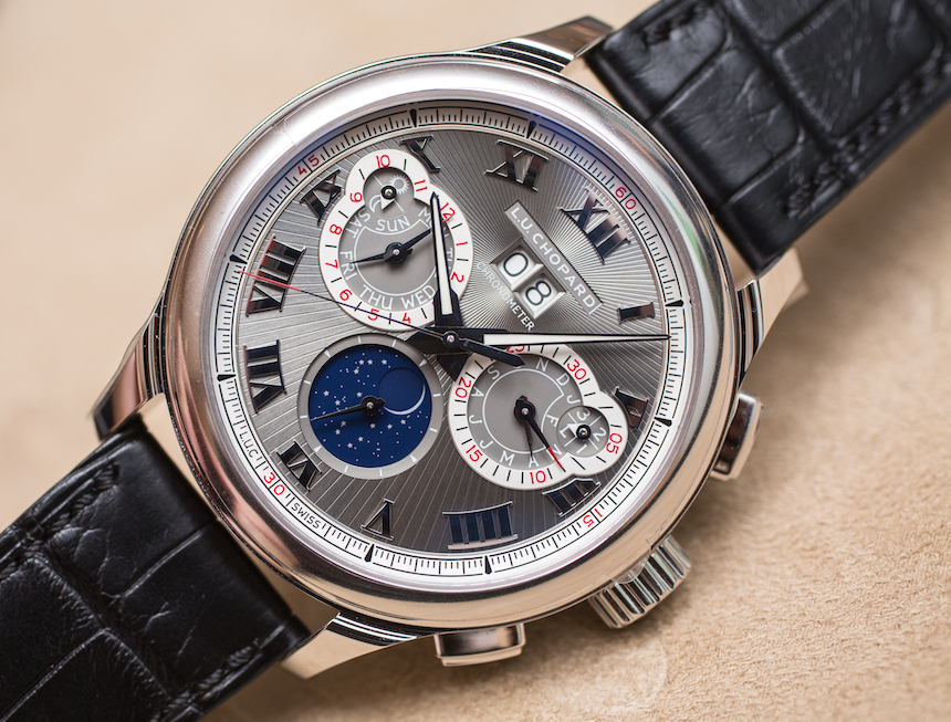 Hands-on The Charming Chopard L.U.C Perpetual Chronograph Replica Watch