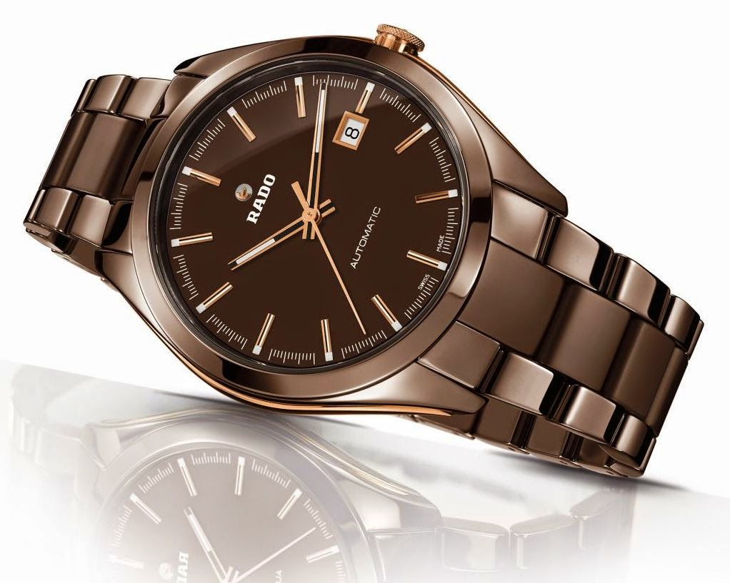 Introduing Rado HyperChrome Replica Watch Collection in chocolate brown high-tech ceramic
