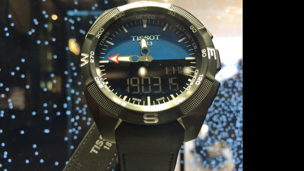 Close Up Cheap Swiss Tissot Series Pro Solar Replica Watch