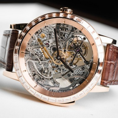 Corum Luanches Luxury Bubble High Jewelry Skeleton Replica Watches