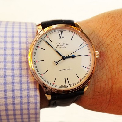 The Simple Glashutte Original Senator Excellence Replica Watch Hands-on