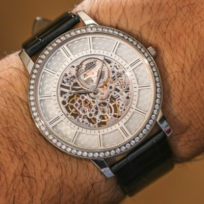 Wearing The Thinnest Replica Jaeger-LeCoultre Master Ultra Thin Squelette Watch