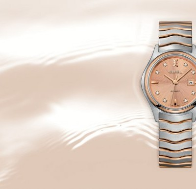 Come To Look At The Very Faminine, Gorgeous And Luxury EBEL Wave Lady Automatic Replica Watch