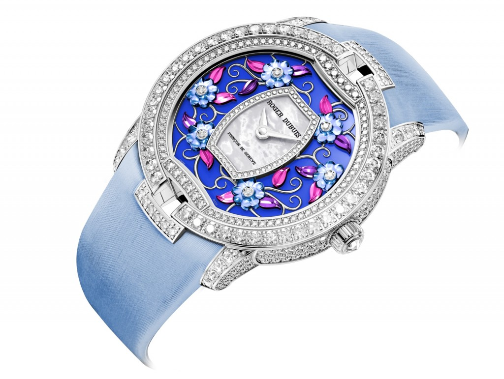 Roger Dubuis Debuts The Pretty Elegant Blossom Velvet Replica Watches