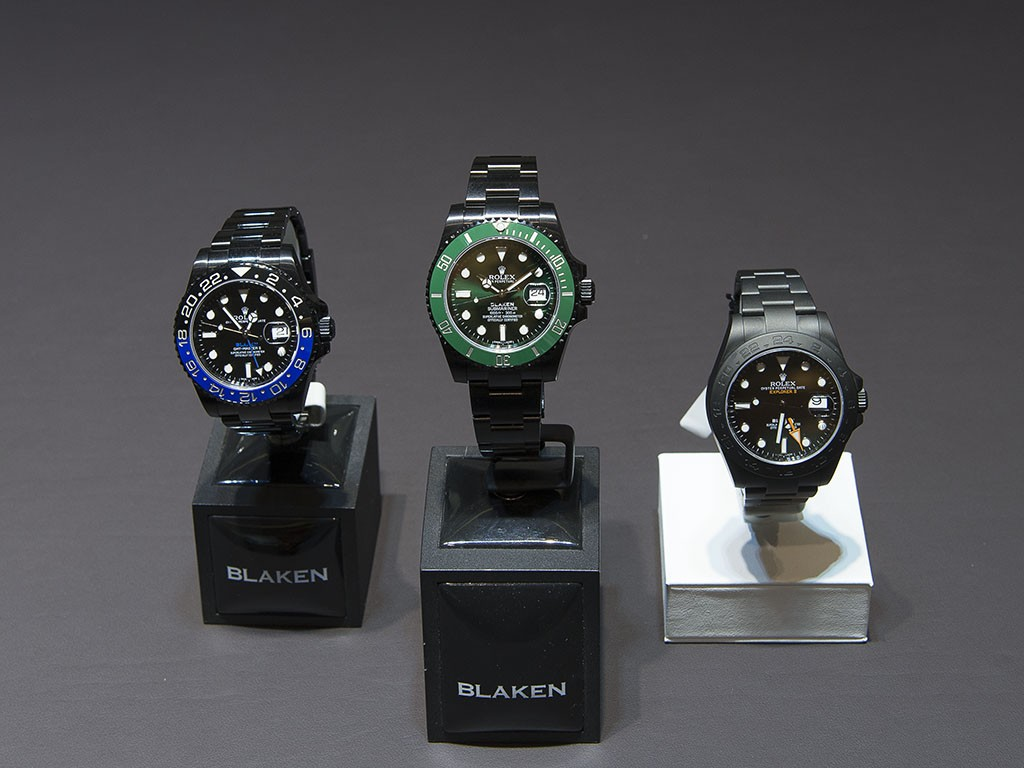 Rolex Cooler Blaken Replica Watch Releases