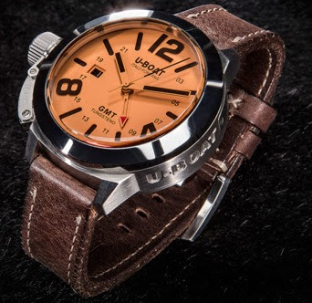 First Look: The Distinguished, Unconventional And Military U-BOAT Classico GMT Replica Watch