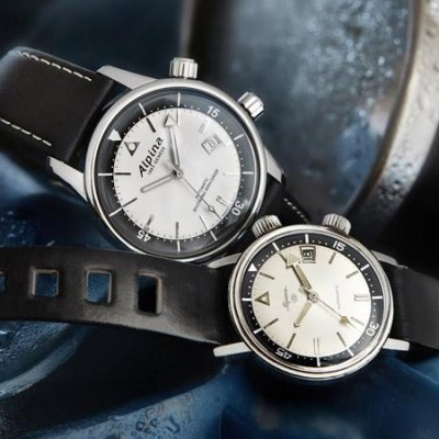 The Version Of Alpina Seastrong Diver Heritag 42mm Mens Replica Watch