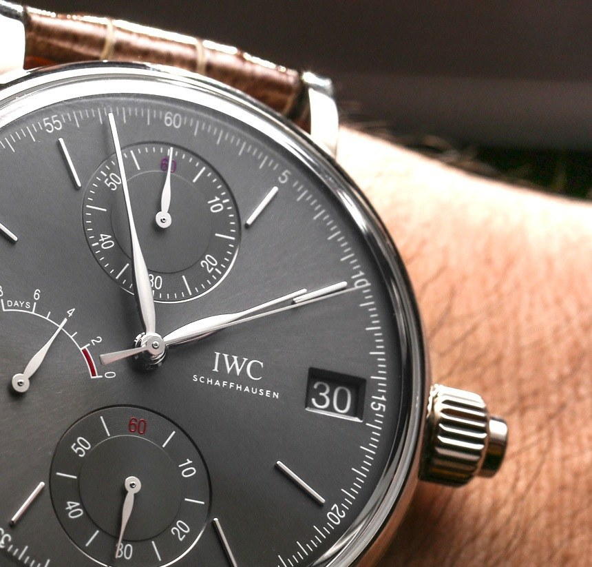 Take A Look At The Replica IWC Portofino Hand-Wound Monopusher Watch