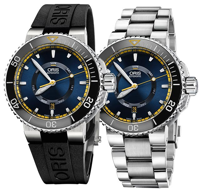 Presenting Three New Oris Divers Replica Watch