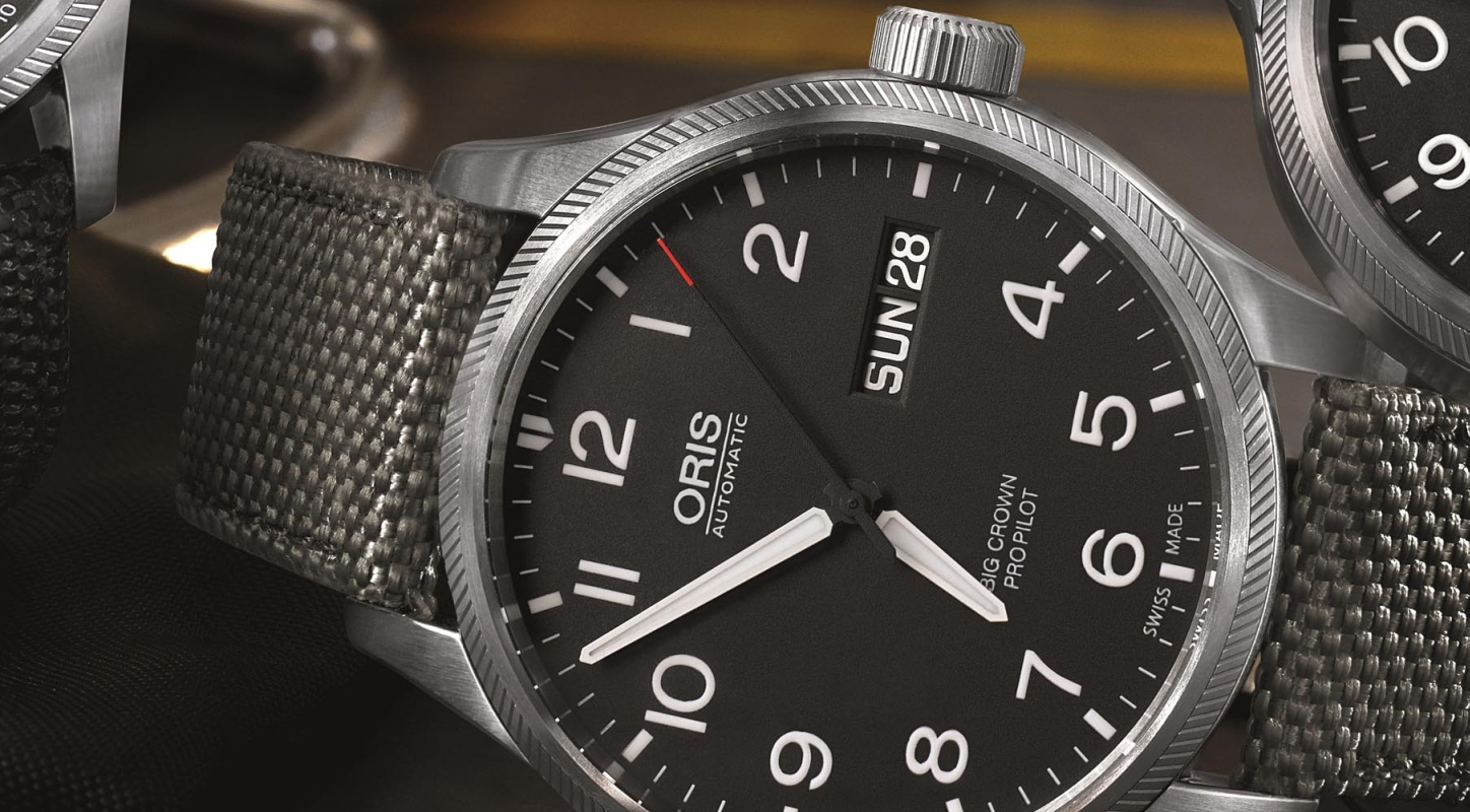 af7e89f74af Oris Introduces The High Quality Cheap Big Crown ProPilot Day Date Replica  Watch