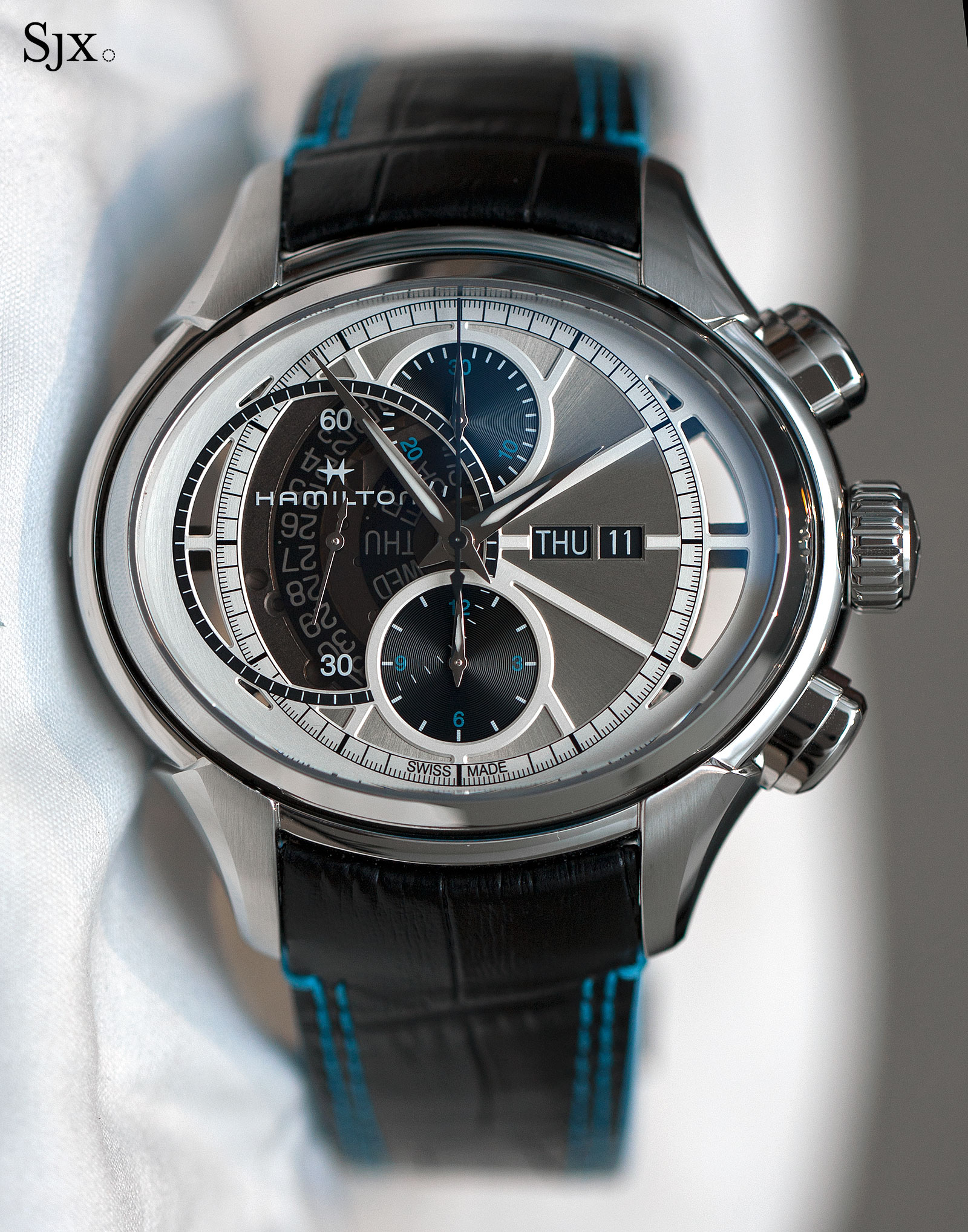 Presenting The New Hamilton Jazzmaster Face 2 Face II Double-Sided Chronograph Replica
