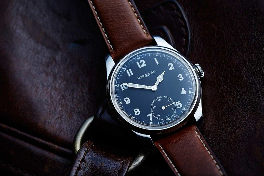 Take A Look At The Montblanc 1858 Small Second Replica