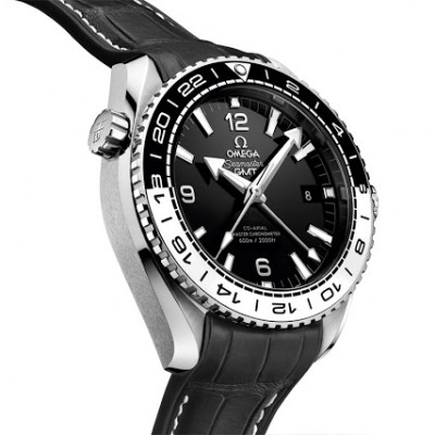Show You The Omega Seamaster Planet Ocean GMT 43.5mm Replica Watch
