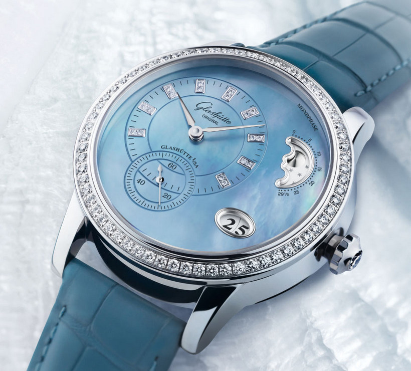 Limited Edition Watch Series:Glashütte Original PanoMatic Luna Boutique Replica