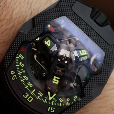 A Review Of The Urwerk UR-210 CP 'Clou De Paris' Replica