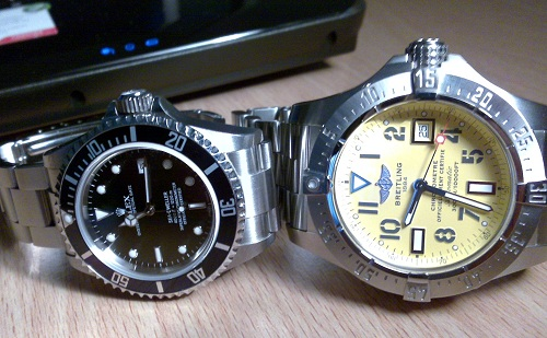 Let Us Review The Replica Rolex And Breitling Mens Watches