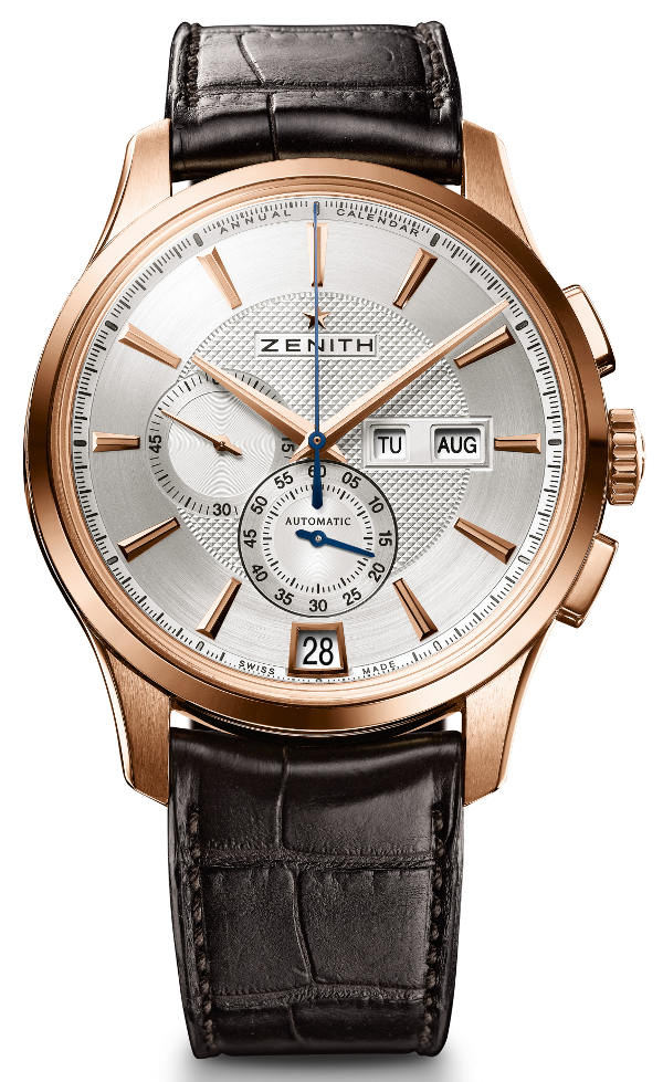 On the Wrist:Zenith Captain Winsor Annual Calendar Replica