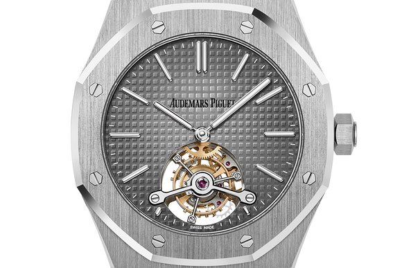 Audemars Piguet Royal Oak Tourbillon Extra-Thin In Platinum Replica