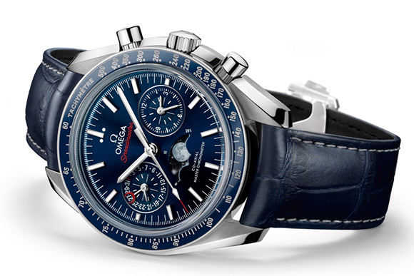 Show You The Omega Speedmaster Moonphase Chronograph Master Chronometer Replica