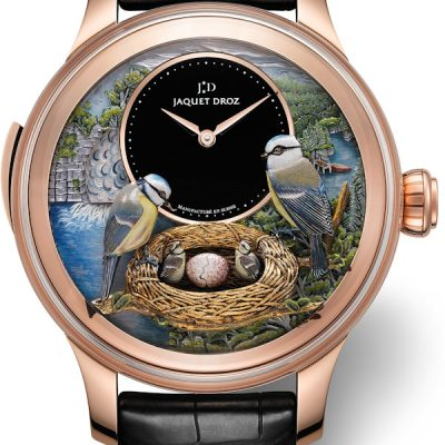 Hands-On With Jaquet Droz The Bird Repeater Men's Replica Watch