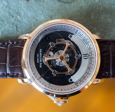 Arnold & Son UTTE Skeleton Tourbillon Replica On Discount