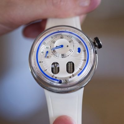 Limited Edition Watch Series:HYT H0 Silver Replica