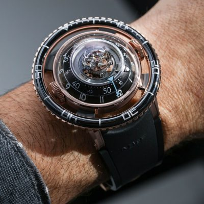 A Luxurious Version Of MB&F HM7 Aquapod Replica Watch