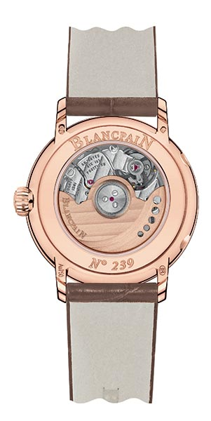 Blancpain Replica Unveils A New Date Moon Phases Women's Timepiece In The Villeret Collection