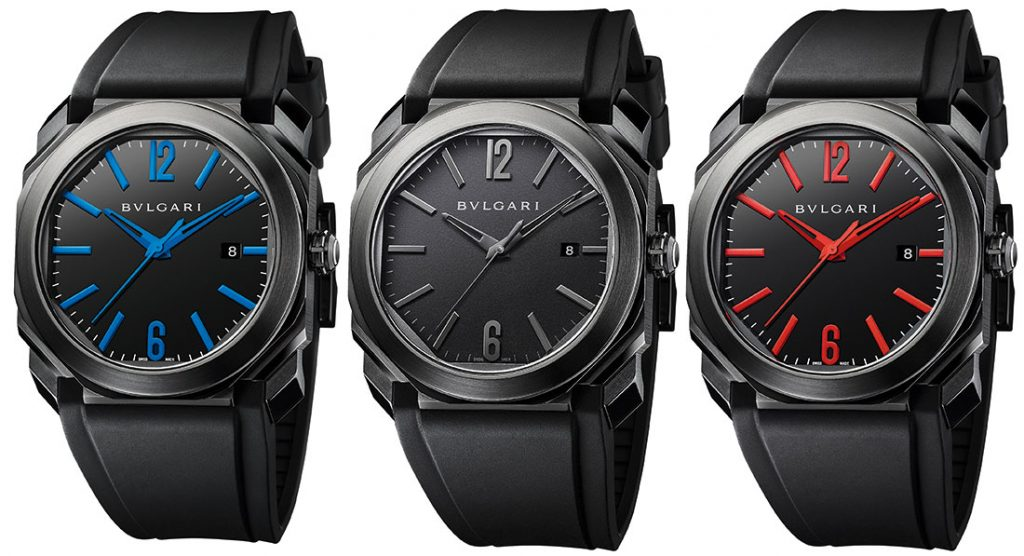 Take A Look At The Bulgari Octo Ultranero Men's Replica Watch