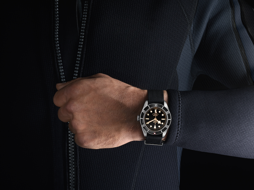 The watch is meant for the active lifestyle (and to show off)