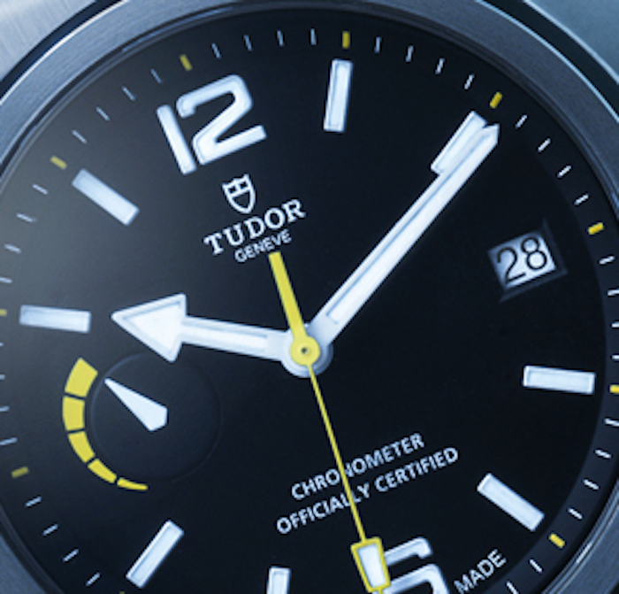 The COSC-Certified Tudor North Flag Chronometer houses the brand's first in-house-made movement