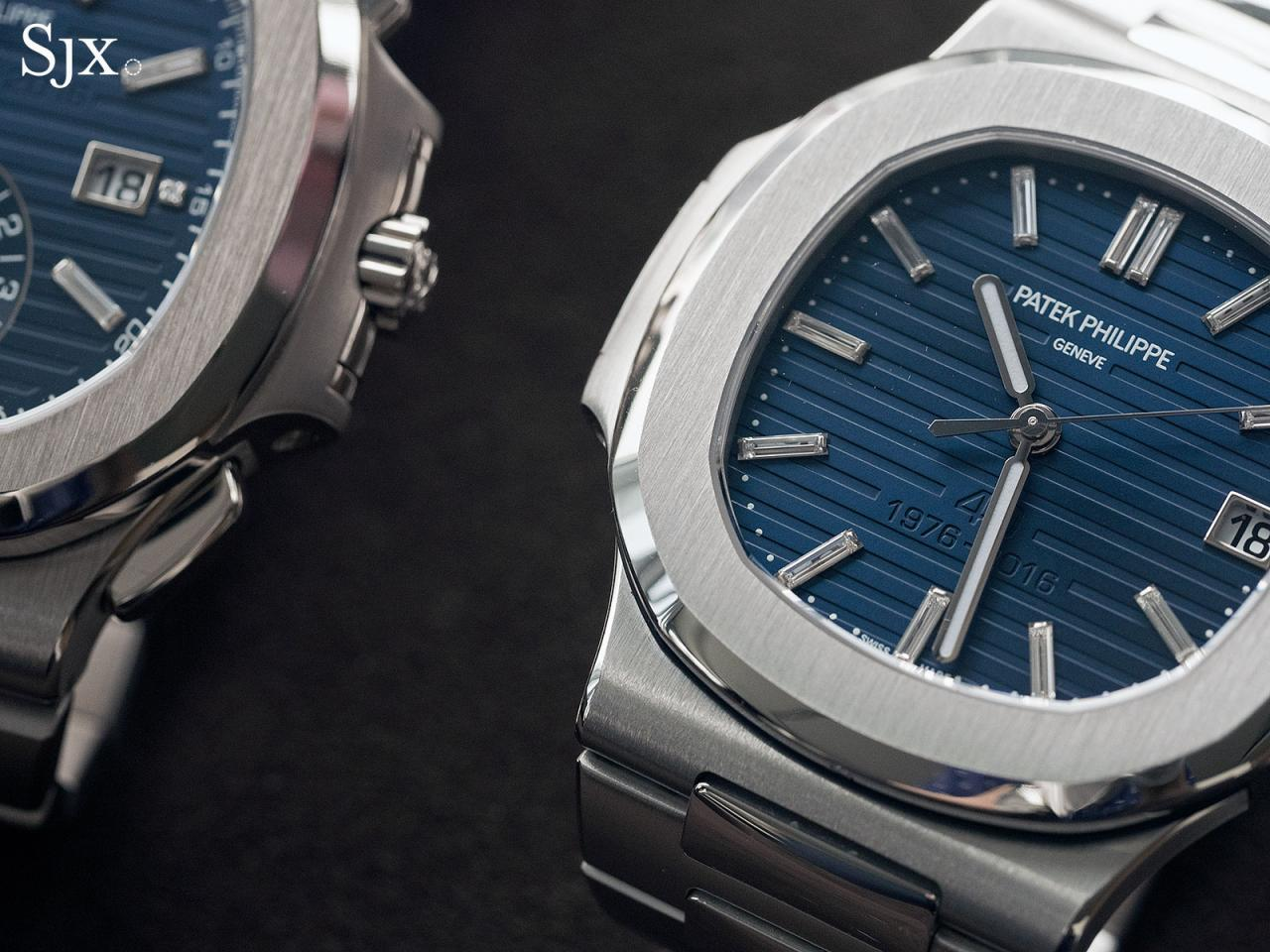 Best Place To Buy Up Close With The Patek Philippe Nautilus 40th