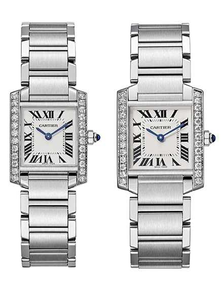 Cartier – Tank Française Replica Watches Young Professional