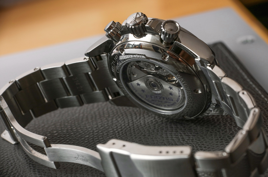 Fortis Classic Cosmonauts Steel A.M. Watch Review Wrist Time Reviews