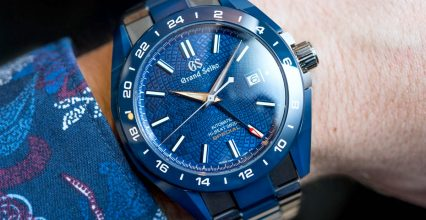 Grand Seiko Blue Ceramic Hi-Beat GMT 'Special' Limited Edition SBGJ229-A Hands-On Perfect Clone Online Shopping