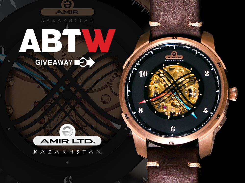 Watch Giveaway: Amir Watches Nomadic Empires Automatic Giveaways
