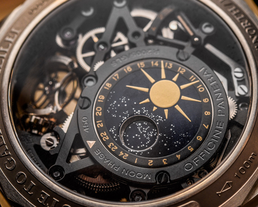 Panerai L'Astronomo Luminor 1950 Tourbillon Moon Phases Equation Of Time GMT PAM00920 Hands-On Hands-On