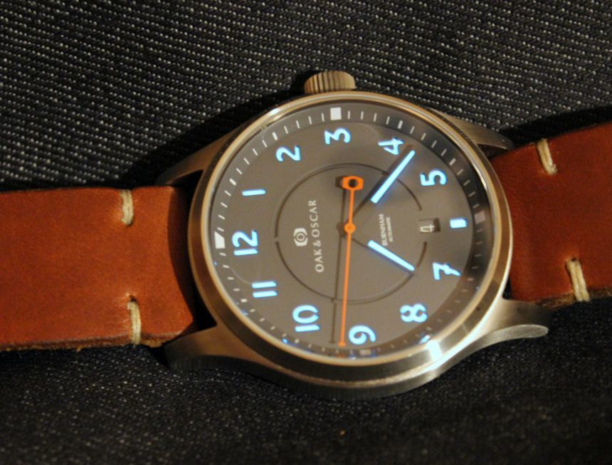 Replica Oak & Oscar Burnham Watch Review