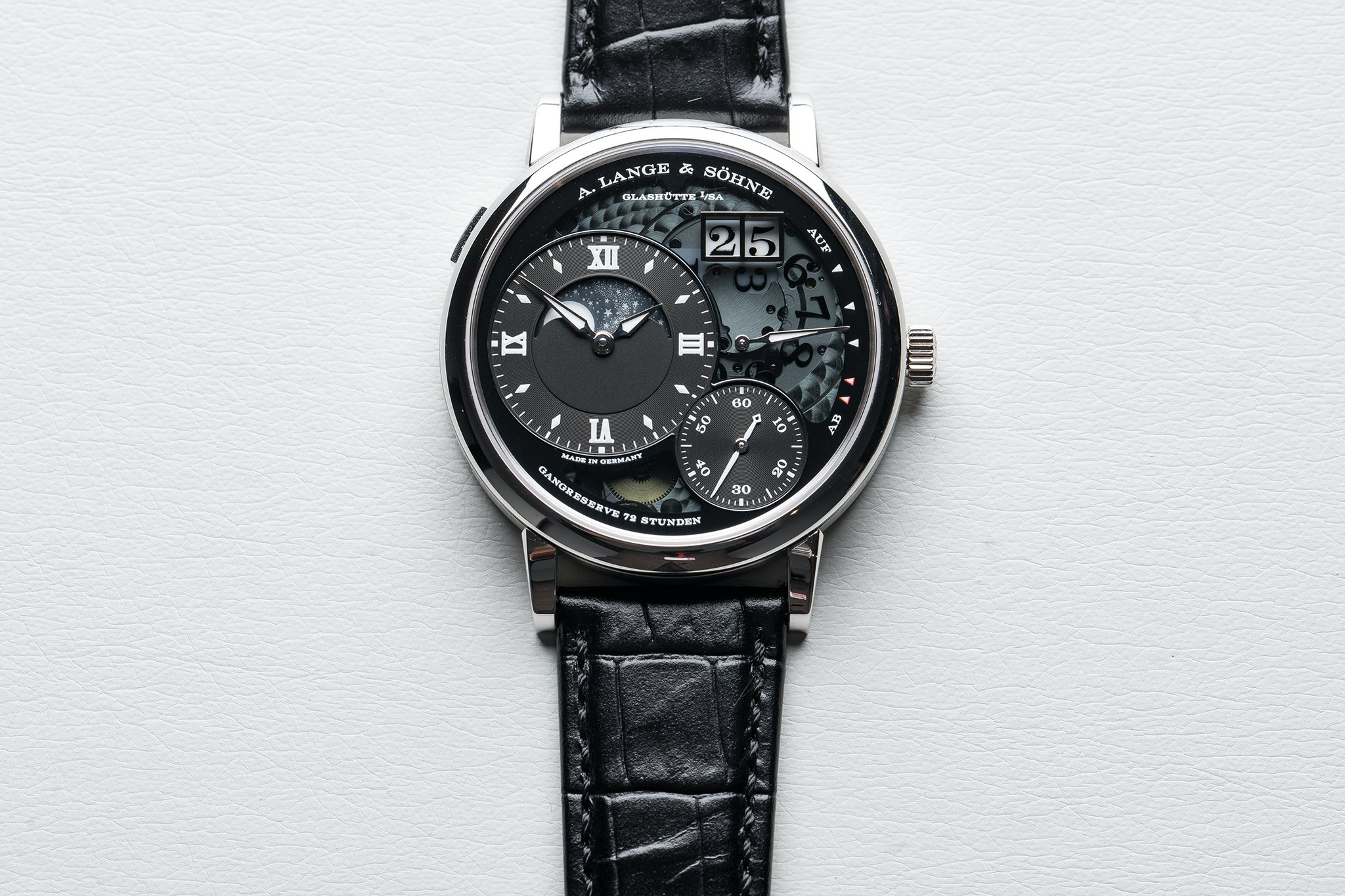 Introducing The A. Lange & Sohne Grand Lange 1 Moon Phase Lumen Replica Watch