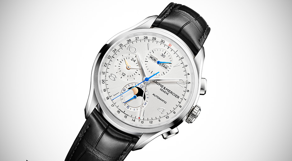 You Will Want To Own The Classic,Beautiful Baume & Mercier Clifton Chronograph Replica Watch
