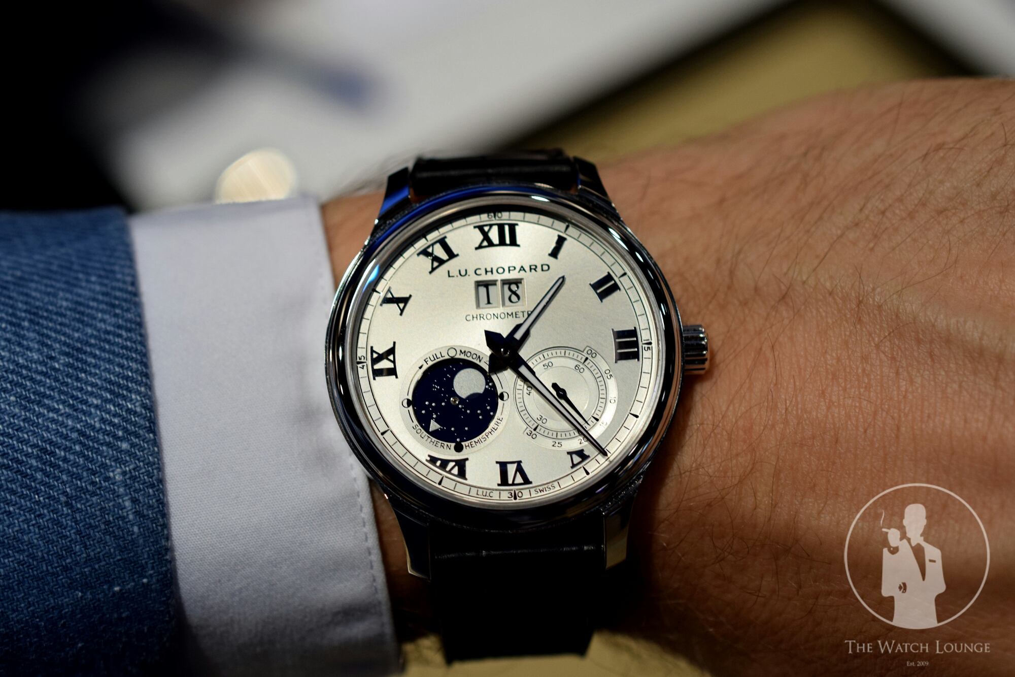 Introducing The Chopard L.U.C Lunar Big Date Replica