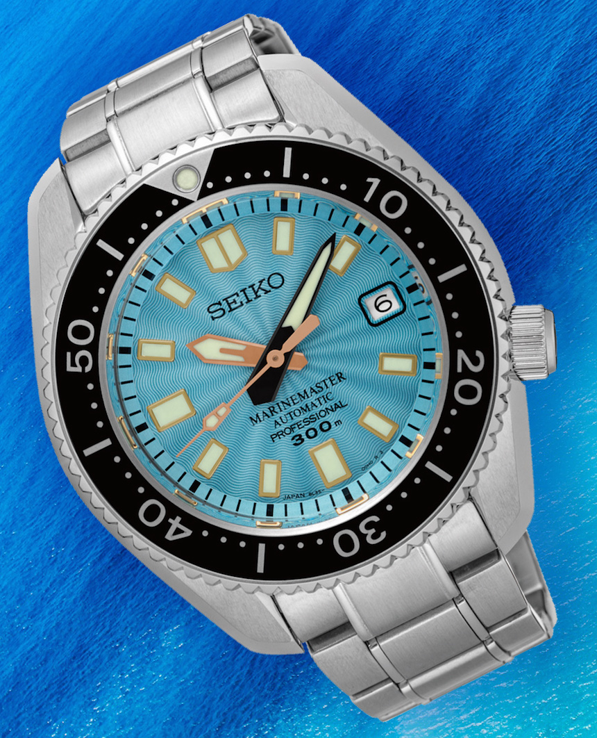 Limited Edition Watch Series:Seiko Marinemaster 300M SLA015 Mens Replica