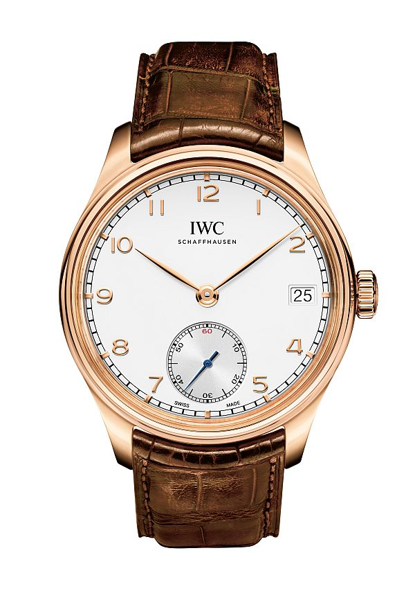 Show You The IWC Portuguese Hand-Wound Eight Days Mens Replica