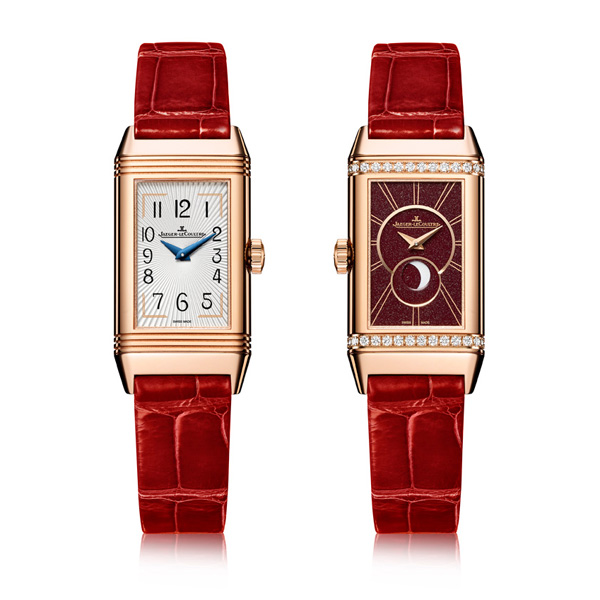 The Luxury Jaeger-LeCoultre Reverso Rose Gold Ladies Replica