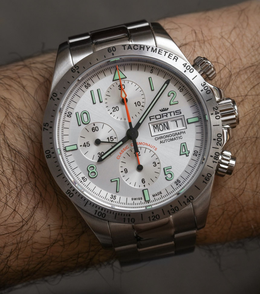 Fortis Classic Cosmonauts Steel A.M. Watch Review Replica At Best Price
