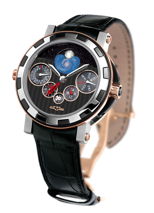DeWitt Academia Quantieme Perpetuel Nebula GMT Watch Available On James List Eta Movement Replica Watches
